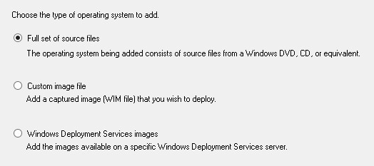 Windows OS deployment using MDT and WDS | Adaptive