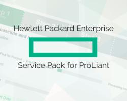 Hewlett-Packard Enterprise serveru atjaunināšana ar SPP